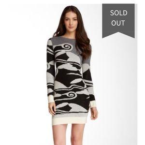 Diane von Furstenberg Berlin Wool Sweater Dress P